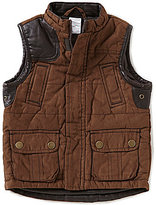 Starting Out Baby Boys 12-24 Months Faux Suede Vest
