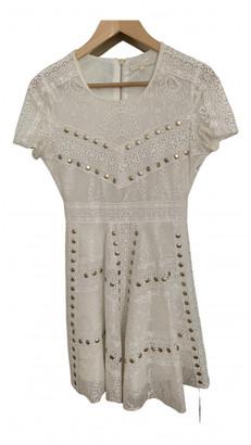 Maje Spring Summer 2019 White Polyester Dresses