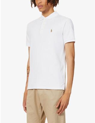 Polo Ralph Lauren Logo-embroidered cotton-jersey polo shirt