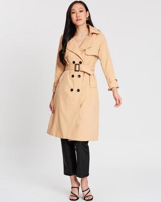 Mossée Isabella Trench Coat