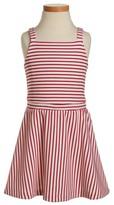 Ruby & Bloom Toddler Girl's Novelty Stripe Dress
