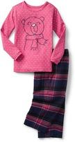 Gap babyGap + Pendleton flannel PJ set
