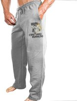 APINANNEI Men's Real Madrid CF CR7 Cristiano Ronaldo Workout Pants