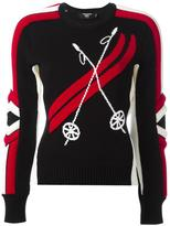DSQUARED2 Ski ribbed intarsia jumper - women - Wool - M