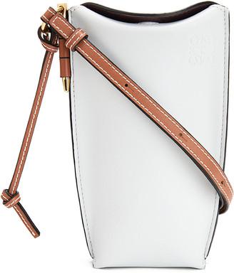 Loewe Gate Two-Tone Smooth Bucket Bag