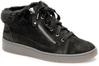 Aetrex Dylan Faux Fur Lined Sneaker
