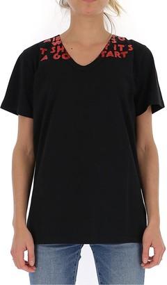 MM6 MAISON MARGIELA Slogan Embellished T-Shirt