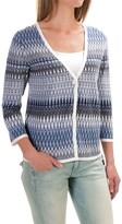 Pendleton Mya Cardigan Sweater - Linen-Cotton (For Women)