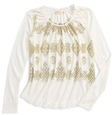 Miss Me Girl's Embellished Top