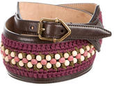 Burberry Bead-Embellished Waist Belt