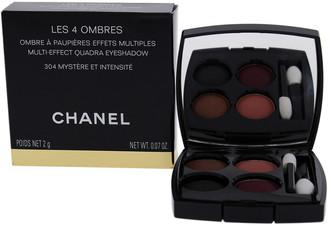 Chanel 0.07Oz #304 Mystere Et Intensite Les 4 Ombres Multi-Effect Quadra Eyeshadow
