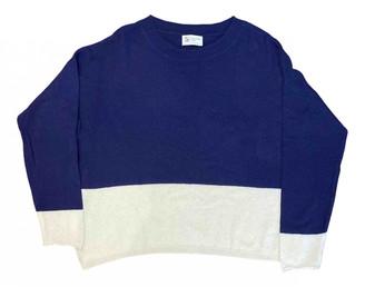 Johnstons of Elgin Navy Cashmere Knitwear
