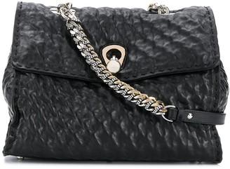 Ermanno Scervino Creased Effect Shoulder Bag