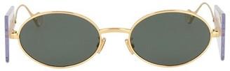 Fenty by Rihanna Side Note 54MM Oval Sunglasses