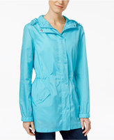 Charter Club Packable Rain Jacket, Only at Macy's