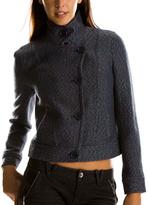 Cropped Multicolor Tweed Jacket