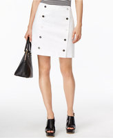 MICHAEL Michael Kors Button-Front Mini Skirt
