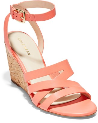 Cole Haan Marietta Ankle Strap Wedge Sandal