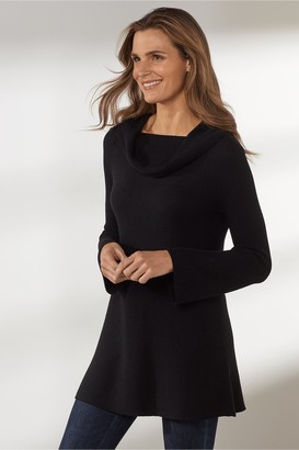 Soft Surroundings Petites Chelsea Cashmere Pullover