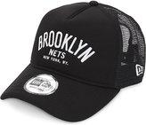 New Era Brooklyn Nets Chainstitch Snapback Cap