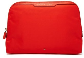 Anya Hindmarch Lotions & Potions Wash Bag - Red