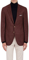 Isaia Men's Sanita Wool-Cashmere Two-Button Sportcoat-RED