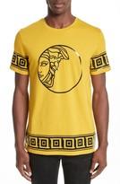 Versace Men's Tonal Medusa Print T-Shirt