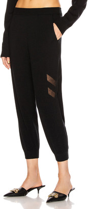 ZEYNEP ARCAY Knit Sweatpant in Black   FWRD