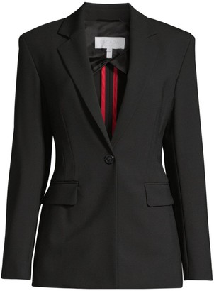 Escada Sport Bimali Double-Face Virgin Wool Blend Jacket