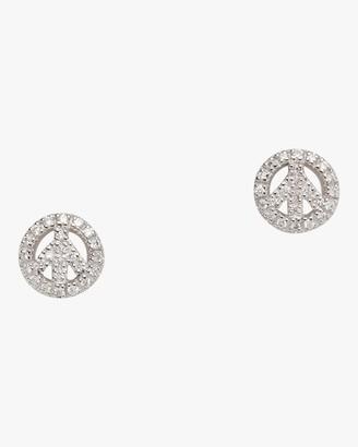 Roberto Coin Diamond Baby Peace Earrings