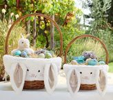 Pottery Barn Kids Taupe Bunny Easter Basket Liners