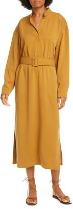 Rodebjer Soleil Smocked Dip Dye Dress