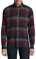 Barbour Barrel Cotton Button-Down Shirt