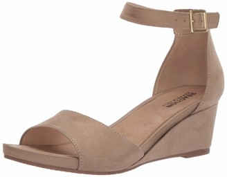 Kenneth Cole Reaction Women's Roll Wedge Ankle Strap Sandal