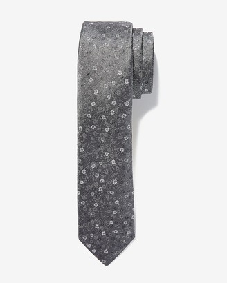 Express Narrow Micro Floral Tie