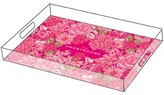 The Well Appointed House Lilly Pulitzer Personalized Large Serving Tray-Between the Lines