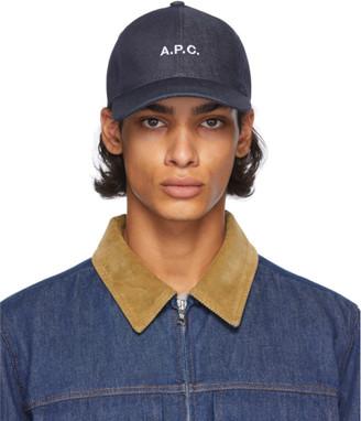 A.P.C. Indigo Charlie Cap