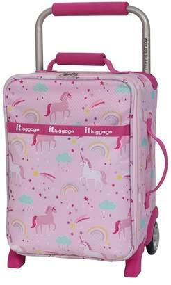 """it luggage World's Lightest 17\"""" 2 Wheel Unicorn Suitcase (Kids)"""