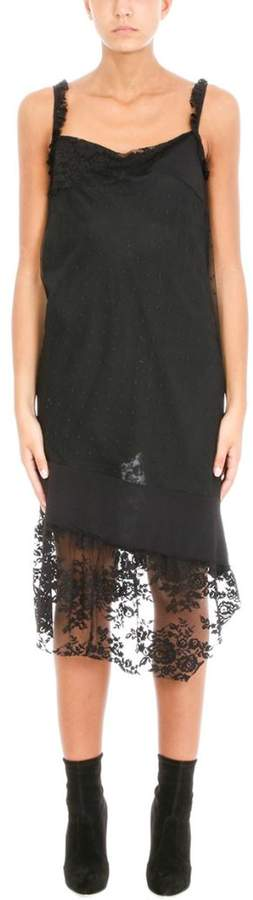 Pierre Balmain Lace Black Dress