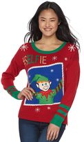 It's Our Time Juniors' Musical Christmas Sweater