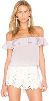 Amanda Uprichard Sleeveless Joanna Top in Lavender. - size L (also in M,S,XS)