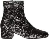 Chiara Ferragni Reversible Sequined Ankle Boots
