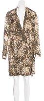 Stella McCartney Camouflage Silk Dress