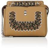 Fendi Women's Dot.Com Small Leather Satchel