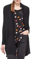 Akris Punto Women's Polka Dot Silk & Wool Cardigan