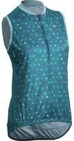 Sugoi Evolution Zap SL Jersey - Sleeveless - Women's Ocean Depth/Origami Print S