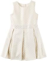 Carter's Girls 4-8 Jacquard Pleated Dress