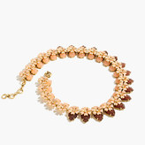 J.Crew Stacked floral necklace