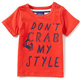 Joules Baby/Little Boys 12 Months-3T Don't Crab My Style Short-Sleeve Tee