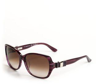 Salvatore Ferragamo Square Frame Sunglasses